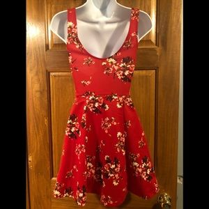 Divided H&M Dresses - Size 2 red floral dress from H&M